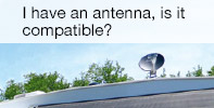 I have an antenna, is it compatible?