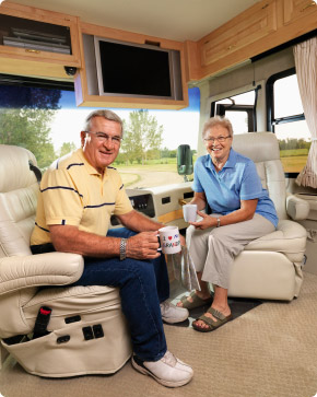 Content RV owners with their TV conent