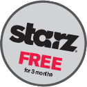 Get starz free for 3 months